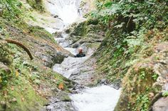 Feel free and take a natural waterslide at Taveuni with The Remote Resort, Fiji Islands.