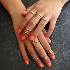 Anel-mania: 67 combinações estilosas com anéis