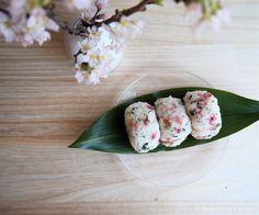 Sakura rice balls(Onigiri)