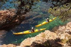 Discover the most beautiful secret #coves of the #CostaBrava #Kayaking http://bit.ly/17iaGSO  #travel #Spain
