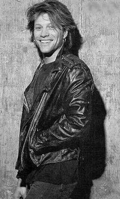 Jon Bon Jovi flashing his signature heart-stopping smile 1993