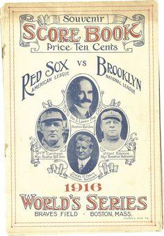 1916 world series