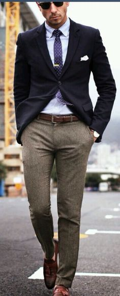 Earth Tone Flannel slim fit Pant