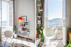 Za oknami wreszcie piękna pogoda więc dzielimy się pogodną inspiracją: fotel Mr. Impossible lampa Toobe i szafeczka Ghost Buster firmy Kartell dostępne na Designisgood.pl