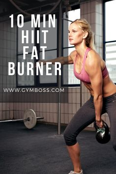 Here is a 10 minute HIIT workout for when you need a short, sharp workout that will still deliver results. Don't let its brevity or simplicity fool you – this workout really delivers Gym Workout For Beginners, Fitness Workout For Women, Workout Guide, Yoga For Beginners, Workout Ideas, Fitness Photos, Fitness Tips, Fitness Motivation, Women's Fitness
