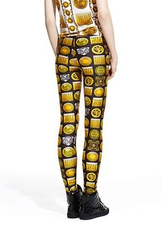 599e2e75275b52 M.I.A. x Versus Versace capsule collection. Get moving with these high  impact printed leggings!