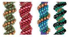 Free Beaded Spiral Bracelet Patterns | ... Bead Circle to Spiral Peyote - Daily Blogs - Blogs - Beading Daily