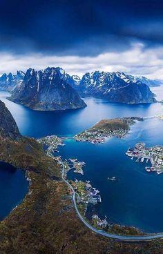 Reinebringen, Lofoten, Norvège