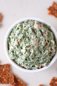 Healthy spinach dip - nutritious and delicious!!