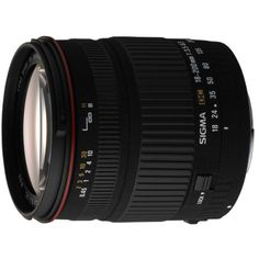 Sigma 18-200mm f/3.5-6.3 AF DC Lens for all Nikon DSLR Cameras   $ 348.09  #SLRLenses                      Price :                SLR Lenses Product FeaturesThe built-in motor is capable of auto focusing with all Nikon DSLR camerasTwo SLD (Special Low Dispersion) lenses and two Aspherical