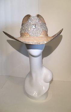 Rhinestone Cowboy Hat by TerrillHats on Etsy https://www.etsy.com/listing/258396325/rhinestone-cowboy-hat