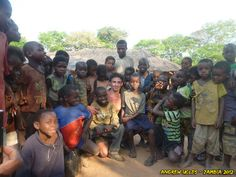 Andrew Ucles in Zambia, Africa