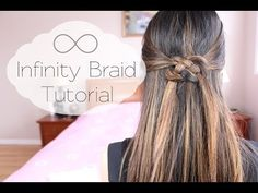 Infinity Braid - All Things Hair - YouTube