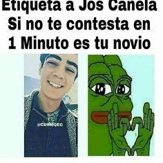 """46 Me gusta, 4 comentarios - JOSE MIGUEL CANELA RIVERA🔥❤ (@jos_dicecanela) en Instagram: """"Los siento @rebeca.schurenkamper pero pues aver si contesta el @joscanela"""""""