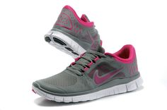 Womens  Nike Free Run 3 Shoes Purple Grey