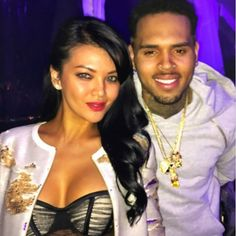 Wow, chris brown bareng artis indonesia!