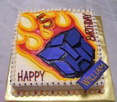 Transformer Cake-hunter birthday