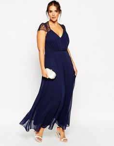 Find the best selection of ASOS CURVE Kate Lace Maxi Dress. Shop today with free delivery and returns (Ts&Cs apply) with ASOS! Fashion Line, Curvy Fashion, Plus Size Fashion, Tulle Dress, Dress Up, Latest Fashion Clothes, Fashion Dresses, Top Mode, Rehearsal Dinner Dresses