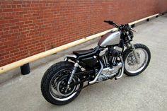 Harley-Davidson XL Sportster | metric front end | chopped rear frame