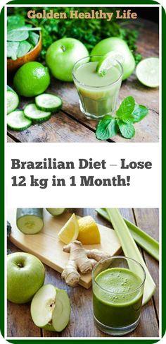Brazilian Diet – Lose 12 kg in 1 Month! http://www.buzzblend.com