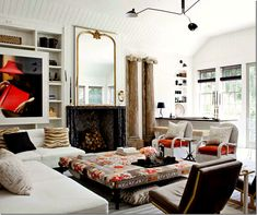 perfect eclectic living room