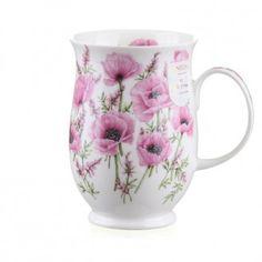 *Poppies Pink* (Suffolk Mug - Dunoon)