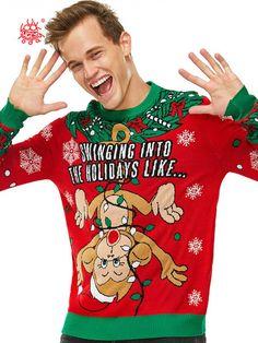 Details about  /Llama Pattern Mens Cute Christmas Unique Design T-Shirt Funny Gift
