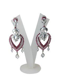 Dangling Earring Set Wedding Fashion Pink American Diamond Polki Earrings Mogul Interior,http://www.amazon.com/dp/B00FNMV1B2/ref=cm_sw_r_pi_dp_CJTusb1N6K7K6YEP