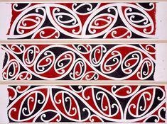 Williams, Herbert William :Designs of ornamentation on Maori rafters. Maori Words, Maori Patterns, Diy And Crafts, Arts And Crafts, Polynesian Art, New Zealand Art, Maori Tattoo Designs, Batik Pattern, Marquesan Tattoos
