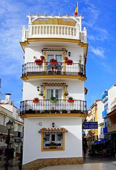 Torremolinos,Plaza la Marina Malaga Spain