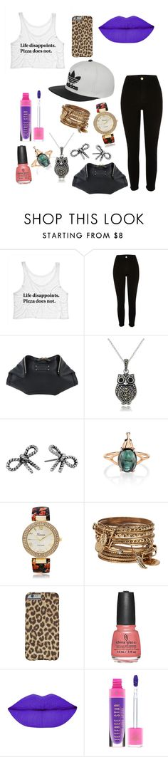 """My style...don't know the name"" by enniahxox ❤ liked on Polyvore featuring Alexander McQueen, Glitzy Rocks, Marc Jacobs, Daniela Villegas, Geneva, ALDO and adidas"
