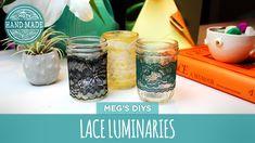 LED Lace Luminaries - HGTV Handmade