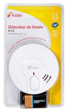 Kidde – Détecteurs de fumée – 29-FR