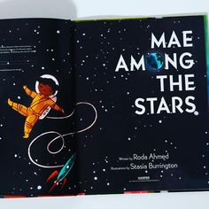 A beautiful picture book for sharing and marking special occasions such as graduation, inspired by the life of the first African American woman to travel in space, Mae Jemison. A great classroom and bedtime read-aloud, Mae Among the Stars is the perfect book for young readers who have big dreams and even bigger hearts. 📸 @alohamoraopenabook National Book Store, Cool Pictures, Beautiful Pictures, Bedtime Reading, African American Women, Picture Books, Inspire Others, Read Aloud, World History