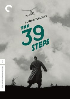 The 39 Steps (The Criterion Collection) [Blu-ray]: Robert Donat, Madeline Carroll, Alfred Hitchcock. Alfred Hitchcock, Hitchcock Film, Poster Company, Movies To Watch, Good Movies, Popular Movies, Admirateur Secret, Die Wilde 13, Madeline Carroll