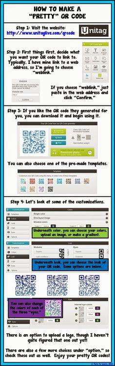 A Turn to Learn: How to Make Pretty QR Codes. (Could put these on notebooks, etc to link to Moodle)