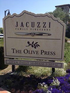 Jacuzzi Family Vineyards Sonoma California