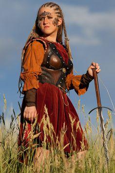 Ancient Celts Women | Celtic Woman Warrior