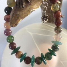 Beautiful bracelet with Indian Agate.