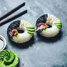 There are many different types of sushi out there, from Chirashizushi and Nigirizushi to Oshizushi and Inarizushi. But there's never been a donut sushi. Not until now that is!