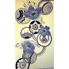 I love draw mandala design  i take this picture on my instagram