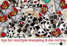 Video Tips for Multiple Stamping and Die Cutting Jennifer McGuire Ink