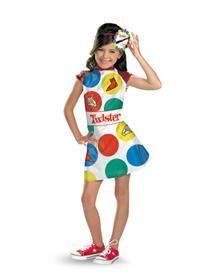 Twister Girl's Costume