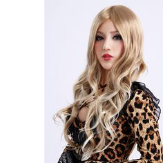 Long Curly BlondeHigh Quality Synthetic Wig