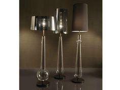 Lampada da terra in vetro soffiato NEW CLASSIC by Penta design Gaia Bellavia