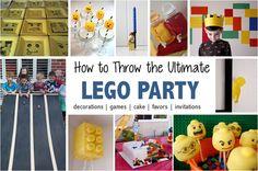 Lego Birthday Party Ideas   South Shore Mamas