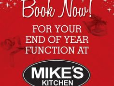 Mike's Kitchen Milnerton & City - Book Now for your End of Year Function End Of Year, Calm, Kitchen, Books, Cooking, Libros, Kitchens, Book, Cuisine
