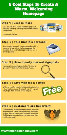 5 Steps to Create A Warm, Welcoming Homepage