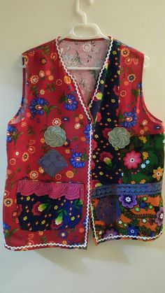 Boho Chic, Apron, Upcycle, Vest, Clothes For Women, Sewing, Pattern, Jackets, Color