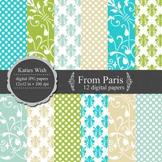 From Paris Digital paper kit for invites Instant by KatiesWish  https://www.etsy.com/listing/68032216/from-paris-digital-paper-kit-for-invites?ref=shop_home_active_6